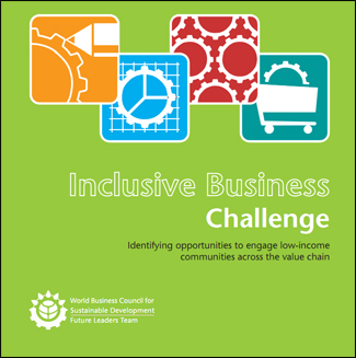 Wbcsd inclusive business challenge