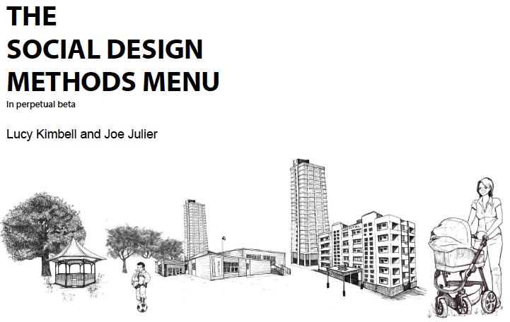 the social design methods menu