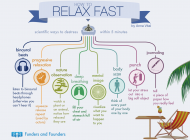 Scientific ways to relax in 5 minutes