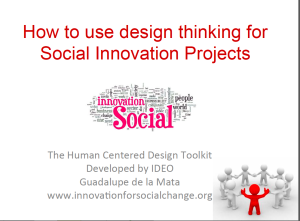 How to use design thinking for Social Innovation Projects